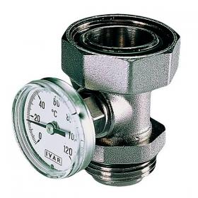 Тройник с термометром